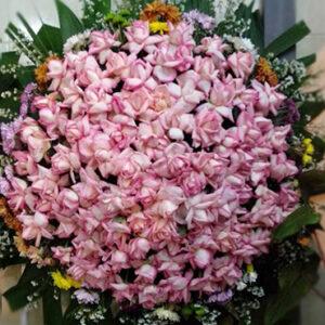 Coroa de Flores Rosas