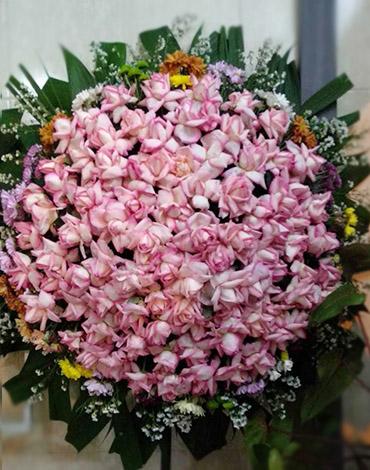 coroa rosas